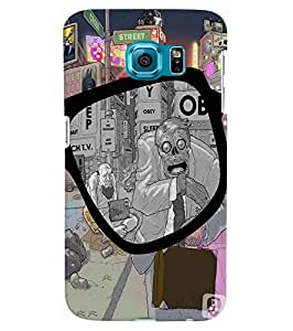 Citydreamz Creative Print\Beautiful Print Hard Polycarbonate Designer Back Case Cover For Samsung Galaxy S6