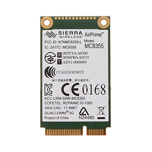 JENOR 60Y3257 Gobi3000 MC8355 3G WWAN Karte GPS für Lenovo Thinkpad W530 X230 T420 X220 - Verizon Mobile Broadband