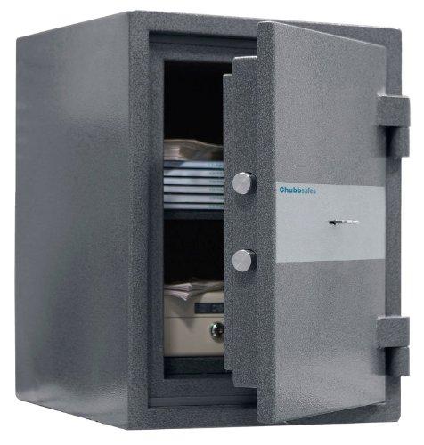 ALD9-Chubbsafes 20K zertifiziert Fire Einbrecher Safe £ 4K Cash spezifische Key Lock 18Liter 52kg 30min Schutz