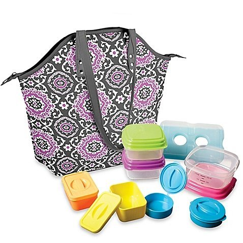 fit-fresh-davenport-14-piece-portion-control-lunch-set-w-davenport-insulated-chiller-bag-by-fit-fres