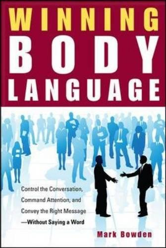 Winning Body Language por Mark Bowden