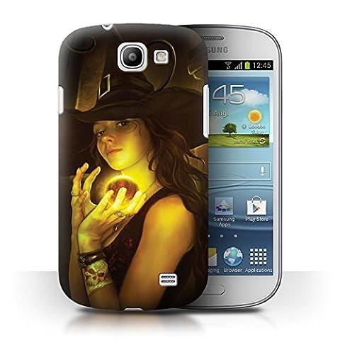 Offiziell Elena Dudina Hülle / Case für Samsung Galaxy Express/I8730 / Magie Ball/Hexerei Muster / Dunkel Magie Kollektion