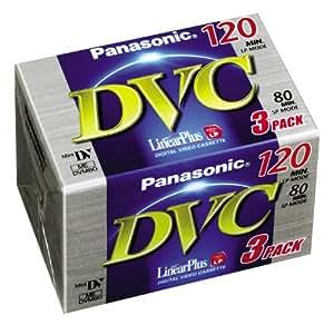 Panasonic DVM 80Lin. Plus cassettes vidéo
