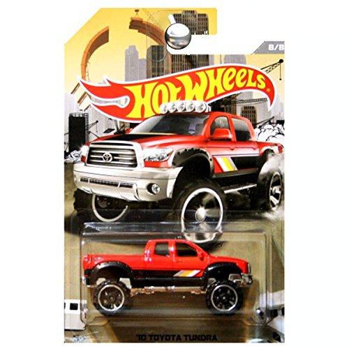 Hot Wheels Toyota Tundra 2010 Rot-Schwarz 1:64
