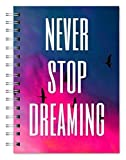 #4: Designer Love and Valetine theme Wire Bound Ruled Paper Sheets Personal And Office Stationary Notebooks & Diary (Pages 500) by Family store