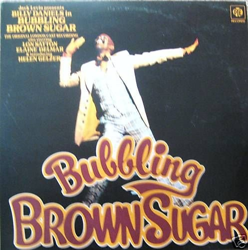 BUBBLING BROWN SUGAR Vinyl LP-Original London Cast,GREAT OFFER (Bubbling Brown Sugar)