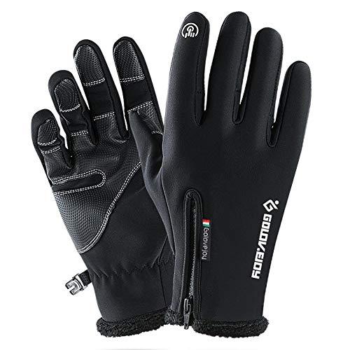 Preisvergleich Produktbild Anna-neek Touchscreen Handschuhe für Herren und Damen,  Outdoor Sport Fahrrad / Motorrad / Bergsteigen Handschuhe - Wasserdichter für Winter