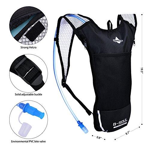 Imagen de vbiger  de hidratacion para trail running / bicicleta / ciclismo negro 2, 2l  alternativa