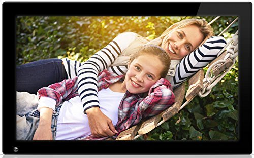 Nixplay 18,5 Zoll Wi-Fi Cloud Digital Photo Frame. iPhone und Android App, E-Mail, Facebook, Dropbox, Instagram, Picasa – W18A Euro-Stecker enthalten