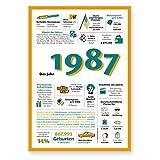 Tolle Geschenkidee: Jahreschronik 1987