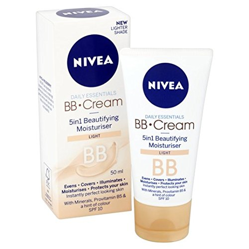 Nivea BB Cream 5 en 1 50ml Beautifying Hydratant Lumière