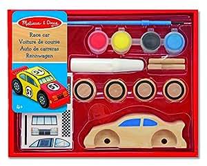 Melissa & Doug - 14575 - Decorate Your Own: Race Car