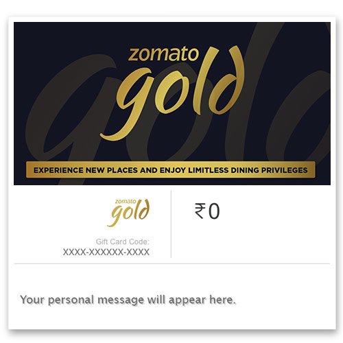 Zomato Gold - Invite Code