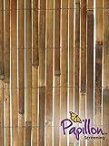 Bamboo Slat Fencing Screening Garden Outdoor Screen - 4.0m x 2.0m
