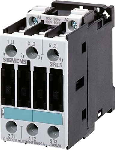 SIEMENS SIRIUS - CONTACTOR AC-3 11KW 400VDC 60V 3 POLOS S0 CONEXION TORNILLO