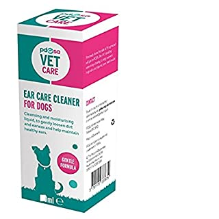 PDSA Ear Care Cleaner for Dogs, One Size, 100 ml