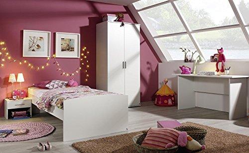 Rauch Kinderzimmer Jugendzimmer Sweet 4-TLG. Komplett Set in Weiss