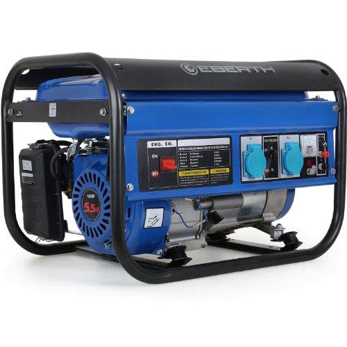EBERTH Générateur électrique puissant avec 5,5 CV / 4,05 kW