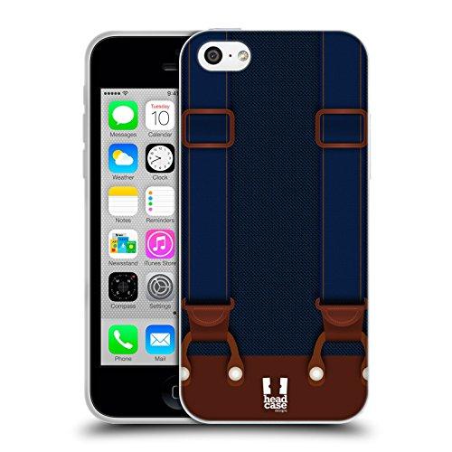 Head Case Designs Sushi Gruppe Sushi Time Soft Gel Hülle für Apple iPhone 5 / 5s Doppel Clip Navy Blue