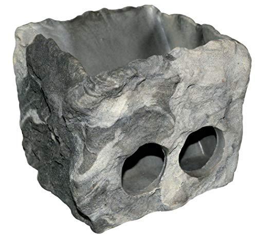 Dragon - Schildkrötenraufe Granite Rock 20x17x15cm -