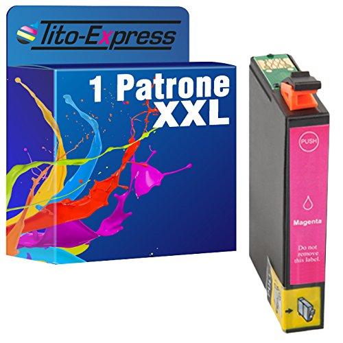 Cartuccia PlatinumSeries 1 XXL Magenta per Epson TE1633 16XL | adatto per WorkForce WF-2630WF WF-2650DWF WF-2750DWF WF-2510WF WF-2010W WF-2660DWF WF-2760DWF