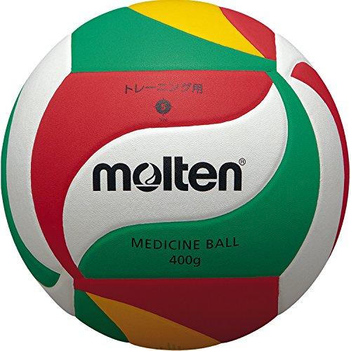molten Volleyball, Weiß/Grün/Rot/Gelb, 5, V5M9000-M