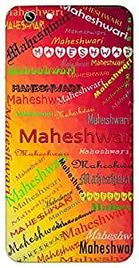 Maheshwari (Goddess Durga) Name & Sign Printed All over customize & Personalized!! Protective back cover for your Smart Phone : Samsung Galaxy Alpha