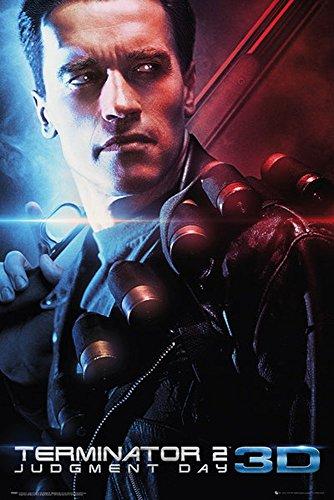 Terminator - Poster - 2 - 3D - One Sheet + Ü-Poster