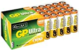 GP Batteries VALUE PACK of 40 Ultra Alkaline AA batteries   Battery Can Be Used Across All Devices   Shelf Life Up TO 7 Years   Powerful Disposable Batteries