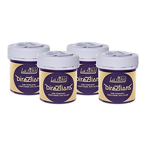 4 Confezioni Di Tinte Per Capelli La Riche Directions (Lavender - Viola) 598847fa6088
