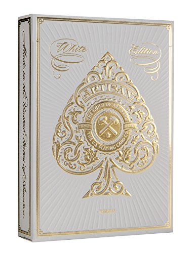 Blanco artesano naipes por teoría 11 | White Artisan Playing Cards by Theory 11