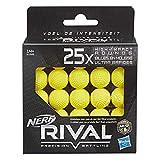 Nerf - Pack de 25 Billes en Mousse Nerf Rival Officielles