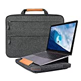13.3 Zoll Laptop Hülle, Laptop Tasche Sleeve mit Laptopständer Funktion, Notebooktasche Hülle für 13 Zoll MacBook Pro Touch Bar/Air, Surface Laptop 2017, 12.9 inch iPad Pro (Grau, 13,3 Zoll)