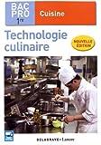 Technologie culinaire 1re Bac Pro Cuisine - Pochette élève