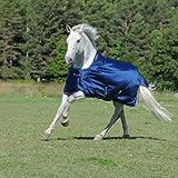BUCAS Outdoor Pferdedecke SMARTEX RAIN, blau, 155