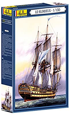 Heller - 80889 - Construction Et Maquettes - Le Glorieux - Echelle 1/150ème