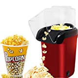 US19884 New Imported Red Hot Air Popcorn Maker Popper Popping Machine 1200 Watts
