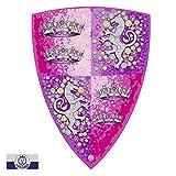 Liontouch 25201LT Kristall Prinzessin Spielzeug Schaumstoff Schild Für Mädchen, Pink | Teil von Kostüm mit Schwert