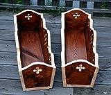 Handarbeit Holz Blumentöpf Blumenkasten Balkonkasten