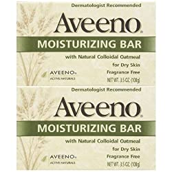 Aveeno Moisturizing Body Bar - Fragrance Free - 3.5 oz - 2 pk