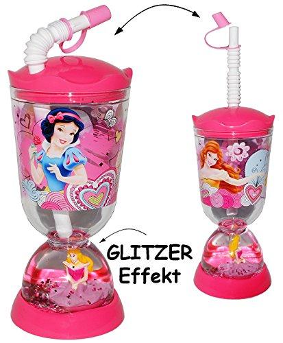 Man Wie Prinzessin Disney Sich Eine Kann (Trinkbecher / Trinkflasche - GLITZERBECHER -
