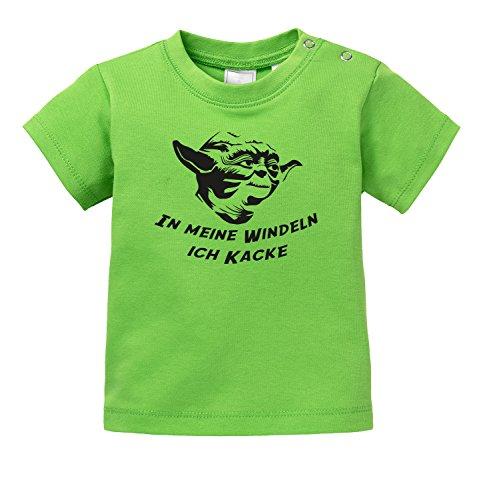 Kacke - Yoda - Star Wars Parodie - Bio Baby T-Shirt ()