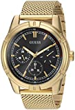 GUESS Men's Quartz Stainless Steel Casual Watch, Color:Gold-Toned (Model: U0965G2)