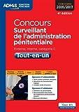 Concours Surveillant de l'administration pénitentiaire - Catégorie C - Tout-en-un ...
