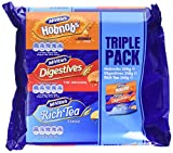 Mcvitie's Classic Triple Biscuits Pack 750g