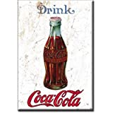 (2x3), Drink Coca Cola Coke, 1915, Shabby Chic, Vintage, Retro, Locker Kühlschrank-Magnet