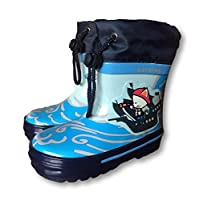 Kotofey Blue Pirate Cat Wellies