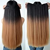 Best Hair Wigs - Glorious 5 Clip Based Synthetic Hair Extensions Review