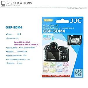 PROfoto.Trend/JJC Ultra-sottile Schermo LCD in Vetro Ottico per Canon EOS 5DS, 5DS R, 5D MARK III, 5D MARK IV (Con 2pcs x Sub-Screen Protector)