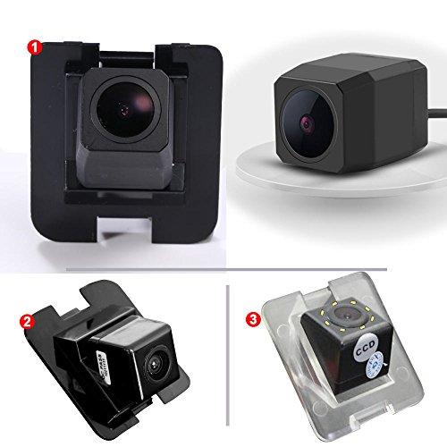 Dynavsal Auto Rückansicht Kamera Parkkamera HD Wasserdicht Nachtsicht Einparkhilfe Rückfahrsystem,Rückfahrkamera für Mecerdes C E S GLK Class 300/350/S400/S500/S600/X204/ W204/ S204/ W212/ W221/ W216 S500 Kamera